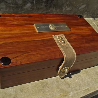 5-watch box (brazilian cherry)