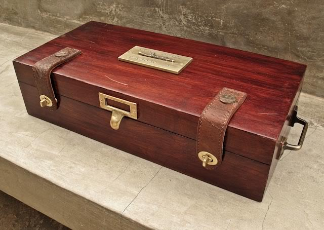 Collector boxes hamilton leather works for Watches box